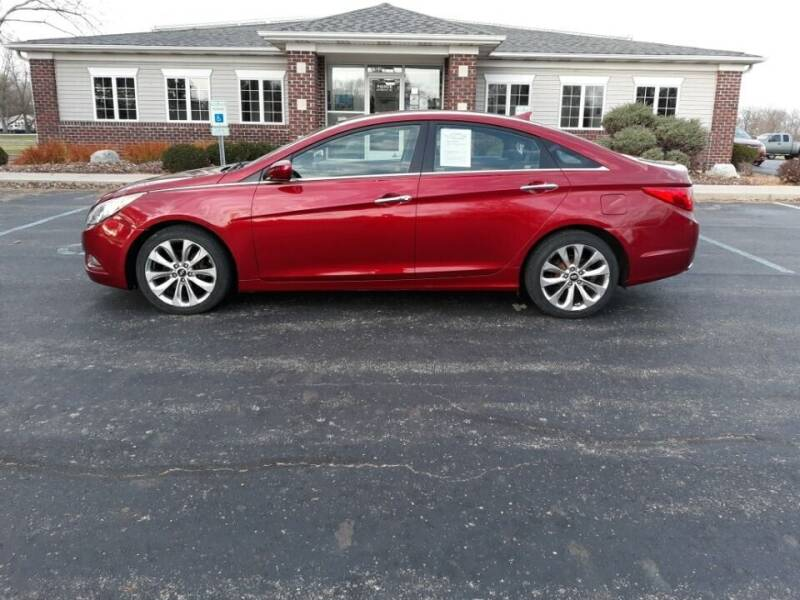 2011 Hyundai Sonata for sale at Pierce Automotive, Inc. in Antwerp OH