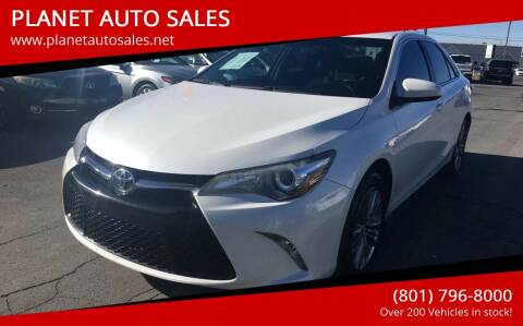2015 Toyota Camry for sale at PLANET AUTO SALES in Lindon UT