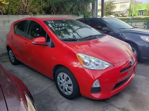 2014 Toyota Prius c for sale at Track One Auto Sales in Orlando FL