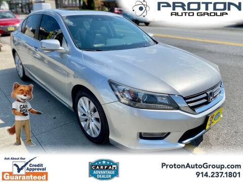 2013 Honda Accord for sale at Proton Auto Group in Yonkers NY