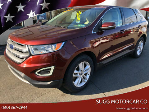 2015 Ford Edge for sale at Sugg Motorcar Co in Boyertown PA