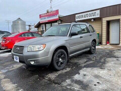 2007 Subaru Forester for sale at WINDOM AUTO OUTLET LLC in Windom MN