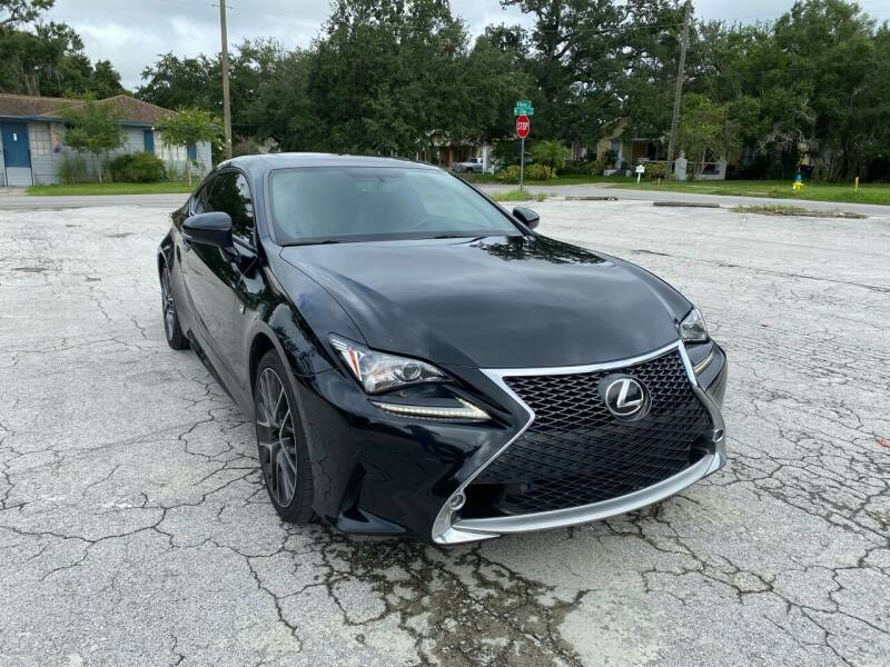 2015 Lexus RC 350 for sale at LUXURY AUTO MALL in Tampa FL