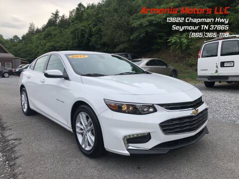 2017 Chevrolet Malibu for sale at Armenia Motors in Seymour TN