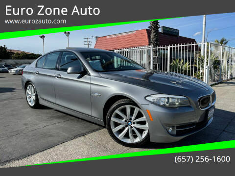 2011 BMW 5 Series for sale at Euro Zone Auto in Stanton CA
