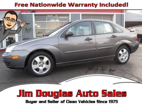 2007 Ford Focus for sale at Jim Douglas Auto Sales in Pontiac MI