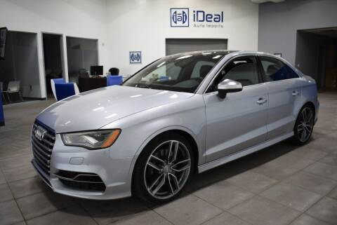 2015 Audi S3 for sale at iDeal Auto Imports in Eden Prairie MN