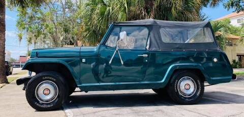1969 Jeep Jeepster Commando 4x4 for sale at PennSpeed in New Smyrna Beach FL
