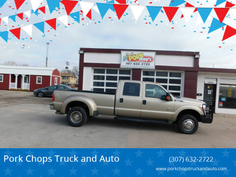2014 Ford F-350 Super Duty for sale at Pork Chops Truck and Auto in Cheyenne WY