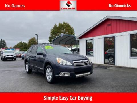2011 Subaru Outback for sale at Cars To Go in Portland OR