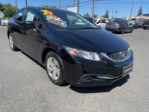 2015 Honda Civic for sale at 5 Star Auto Sales in Modesto CA