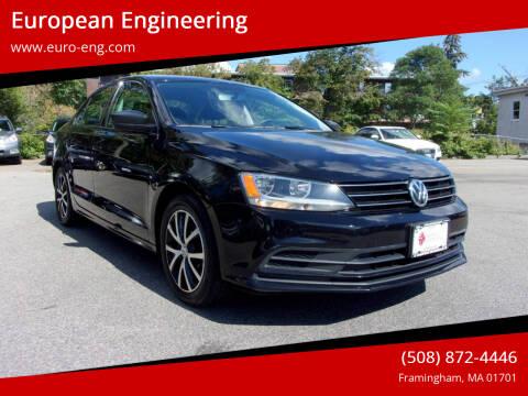 2016 Volkswagen Jetta for sale at European Engineering in Framingham MA