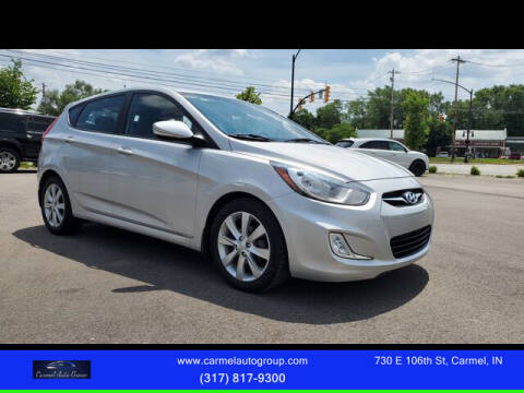 2013 Hyundai Accent for sale at Carmel Auto Group in Indianapolis IN