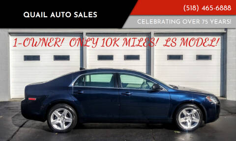 2012 Chevrolet Malibu for sale at Quail Auto Sales in Albany NY