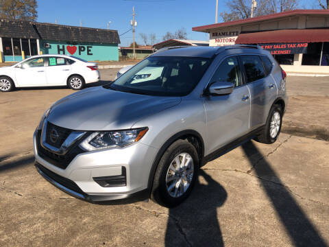 2020 Nissan Rogue for sale at BRAMLETT MOTORS in Hope AR