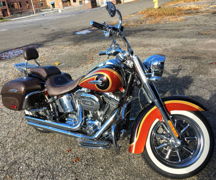 2014 Harley-Davidson Softail Deluxe CVO for sale at Autoworks of Devon in Milford CT
