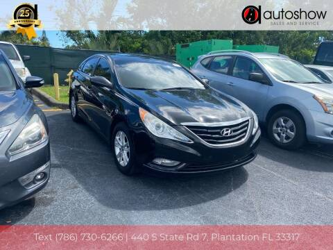 2013 Hyundai Sonata for sale at AUTOSHOW SALES & SERVICE in Plantation FL