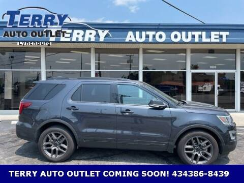 2017 Ford Explorer for sale at Terry Auto Outlet in Lynchburg VA