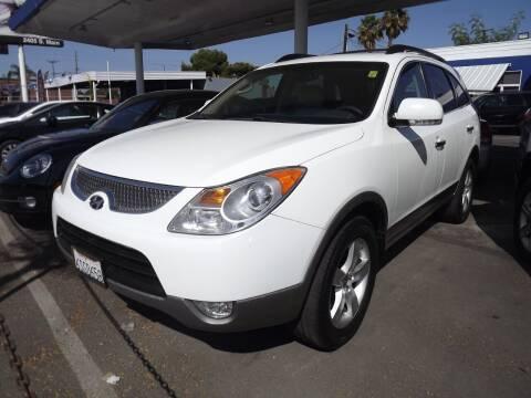 2011 Hyundai Veracruz for sale at PACIFICO AUTO SALES in Santa Ana CA