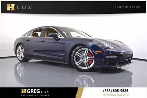 2017 Porsche Panamera for sale at HGREG LUX EXCLUSIVE MOTORCARS in Pompano Beach FL