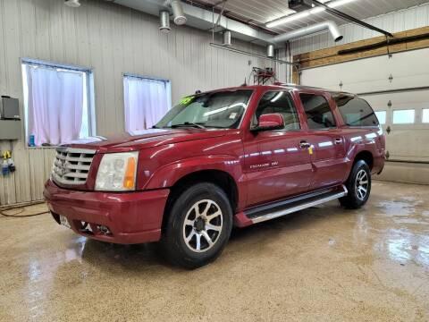 2004 Cadillac Escalade ESV for sale at Sand's Auto Sales in Cambridge MN