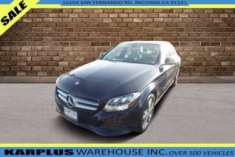 2016 Mercedes-Benz C-Class for sale at Karplus Warehouse in Pacoima CA