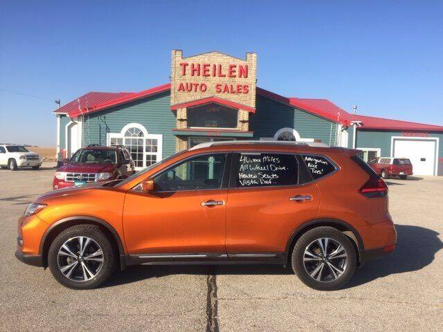 2017 Nissan Rogue for sale at THEILEN AUTO SALES in Clear Lake IA