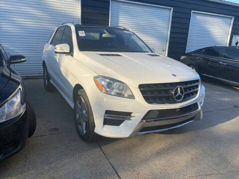 2015 Mercedes-Benz M-Class for sale at Direct Auto in D'Iberville MS