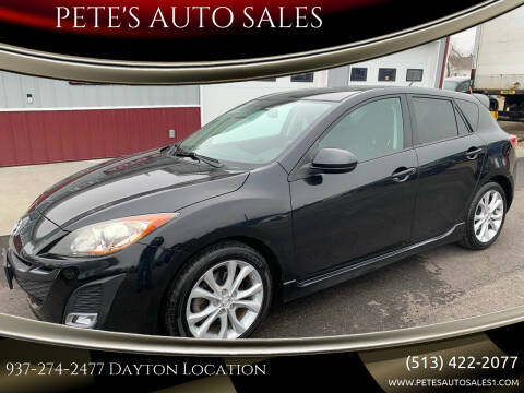 2010 Mazda MAZDA3 for sale at PETE'S AUTO SALES LLC - Dayton in Dayton OH