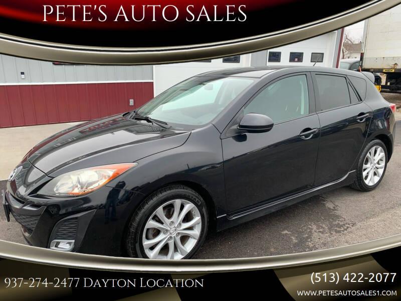 2010 Mazda MAZDA3 for sale at PETE'S AUTO SALES LLC - Dayton in Dayton OH