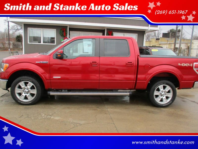 2011 Ford F-150 for sale at Smith and Stanke Auto Sales in Sturgis MI