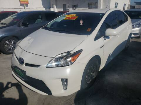 2012 Toyota Prius for sale at Express Auto Sales in Los Angeles CA