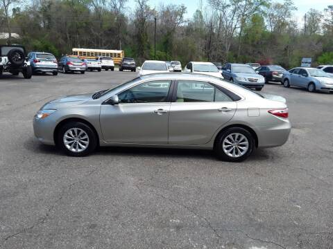 2016 Toyota Camry for sale at WALKER MOTORS LLC in Hattiesburg MS