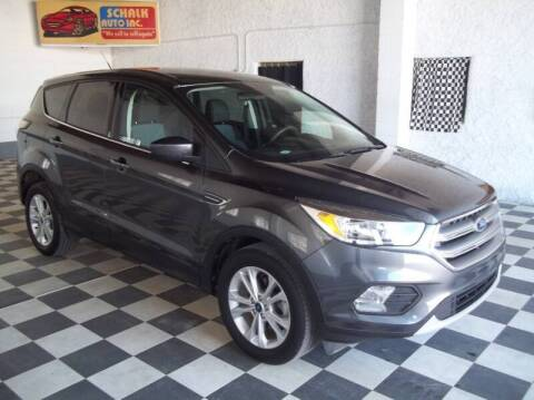 2017 Ford Escape for sale at Schalk Auto Inc in Albion NE