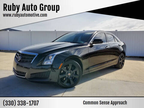 2013 Cadillac ATS for sale at Ruby Auto Group in Hudson OH