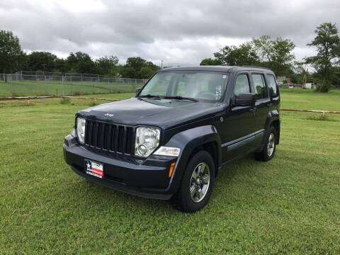 2008 Jeep Liberty for sale at LA PULGA DE AUTOS in Dallas TX