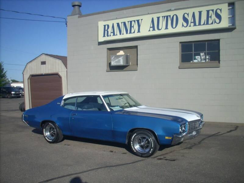 1972 Buick Skylark for sale at Ranney's Auto Sales in Eau Claire WI