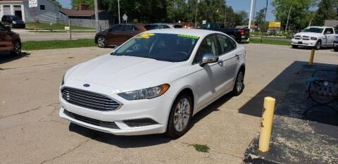 2017 Ford Fusion for sale at Clare Auto Sales, Inc. in Clare MI