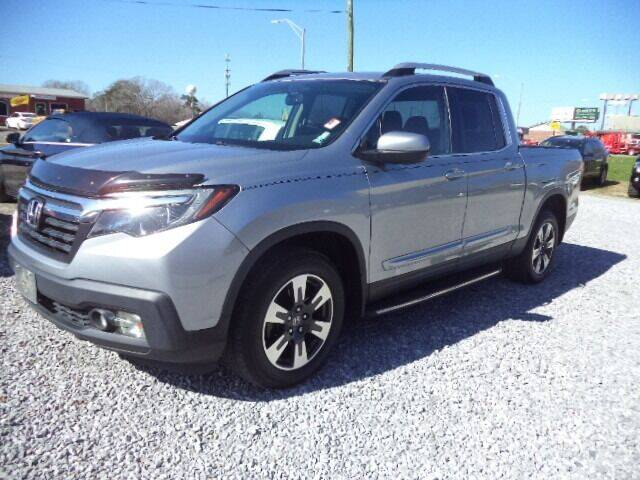 2017 Honda Ridgeline for sale at PICAYUNE AUTO SALES in Picayune MS