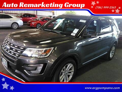 2016 Ford Explorer for sale at Auto Remarketing Group in Pompano Beach FL