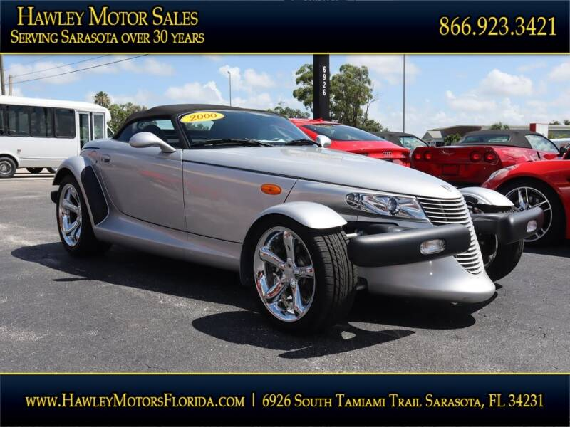 2000 Plymouth Prowler for sale at Hawley Motor Sales in Sarasota FL