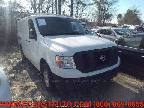 2014 Nissan NV Cargo for sale at East Coast Auto Source Inc. in Bedford VA