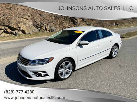 2013 Volkswagen CC for sale at Johnsons Auto Sales, LLC in Marshall NC