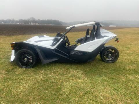 2019 Polaris Slingshot S White Lightning for sale at Wendell Greene Motors Inc in Hamilton OH
