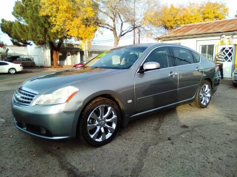 2007 Infiniti M35 for sale at Larry's Auto Sales Inc. in Fresno CA