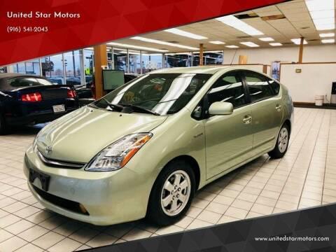 2009 Toyota Prius for sale at United Star Motors in Sacramento CA