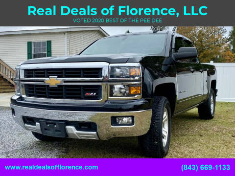 2015 Chevrolet Silverado 1500 for sale at Real Deals of Florence, LLC in Effingham SC