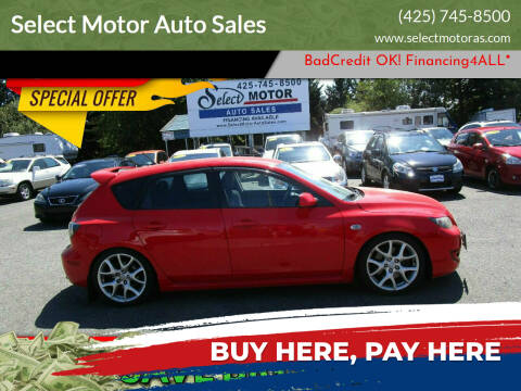2008 Mazda MAZDASPEED3 for sale at Select Motor Auto Sales in Lynnwood WA