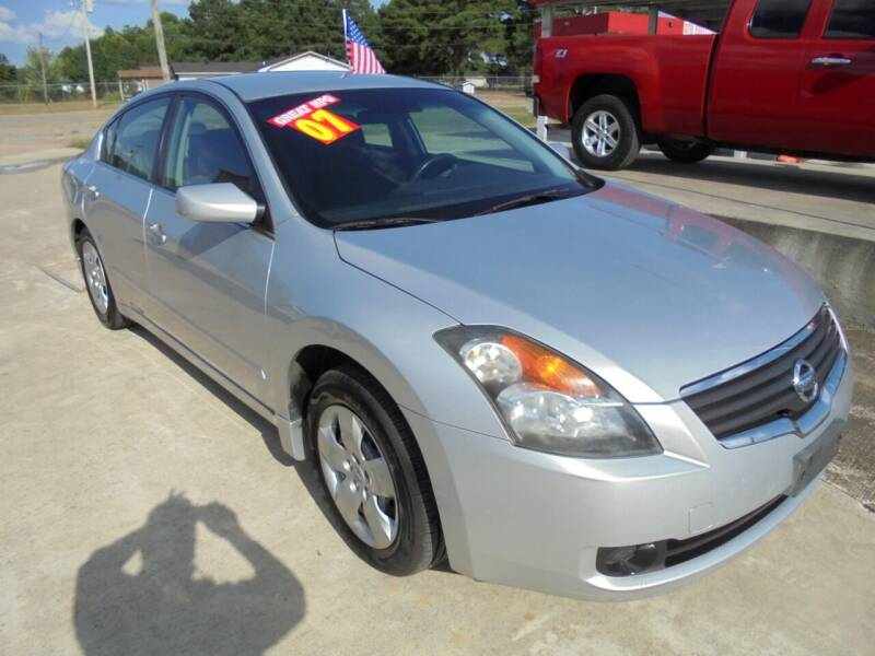 2007 Nissan Altima for sale at US PAWN AND LOAN in Austin AR
