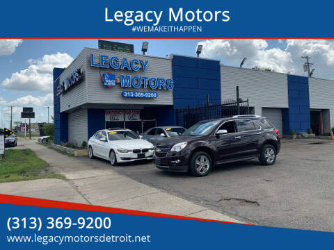 2011 Chevrolet Equinox for sale at Legacy Motors in Detroit MI
